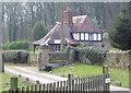 SJ3364 : Lodge by Eirian Evans