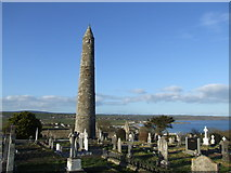 X1877 : Round Tower, Ardmore, County Waterford. by Michael Watson