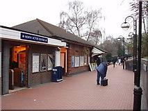 TQ2081 : North Acton Underground Station by David Hawgood