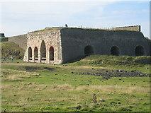 NU1341 : Lime Kiln on Holy Island by Lisa Jarvis