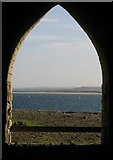 NU1341 : View from Lime Kiln on Holy Island by Lisa Jarvis