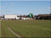 TQ2081 : Waste transfer depot, Horn Lane, North Acton by David Hawgood