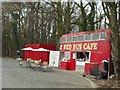 SE3939 : Red Bus Cafe, A64 by Rich Tea
