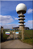 TF1296 : Telecomm Facility nr. Normanby-le-Wold by David Wright