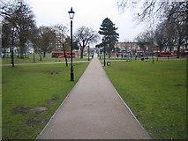 TQ1780 : Ealing: Haven Green, W5 by Nigel Cox