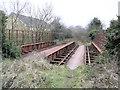 C3409 : Railway Bridge, St Johnston by Kenneth  Allen