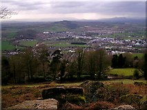 SO5212 : View from The Kymin by Stuart Wilding
