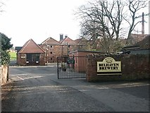 NT6678 : Belhaven Brewery by Simon Johnston