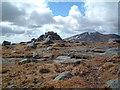 NX4586 : Mullwharchar cairn by Chris Wimbush