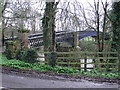 NZ3209 : Neasham Hall Bridge :  Private by Hugh Mortimer