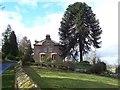 NY3647 : Hawksdale Lodge. by John Holmes