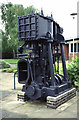 SJ6573 : Marine engine at Northwich Salt Museum by Chris Allen