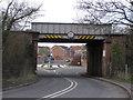 NZ3513 : Oaktree Junction :  Railbridge by Hugh Mortimer