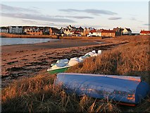NT4999 : East Elie from the harbour by Jim Bain