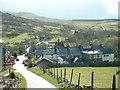 SH6344 : Croesor Village by David Medcalf