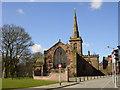 SJ4692 : St. Mary's Parish Church, Prescot by Sue Adair