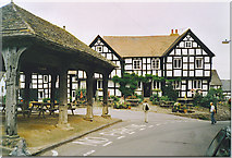 SO3958 : Pembridge, Market Hall and New Inn. by Colin Smith