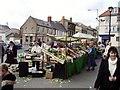 NT9952 : Market, Berwick upon Tweed by Richard Webb