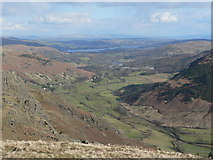 NY3006 : Great Langdale from Stickle Tarn by John Berry