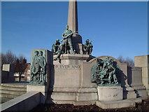 SJ3384 : War Memorial by David Squire