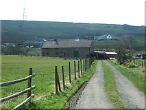 SD7221 : The road to Far Scotland Farm by Alexander P Kapp