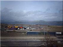 NS3174 : Former shipyard in Port Glasgow by Thomas Nugent