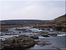 NY7732 : River Tees by Andrew Smith