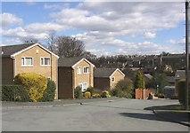SE1321 : End of Newbury Road, Rastrick by Humphrey Bolton