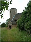 TM3898 : St Gregory's Church, Heckingham by Oliver Dixon