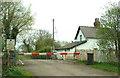 SE6324 : Carlton Nr Goole Railway Crossing, Hanger Lane by Gordon Kneale Brooke