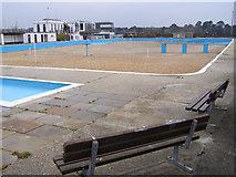 SZ3394 : Lymington Seawater Baths - without seawater by Jim Champion