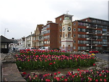 TQ7307 : Clock Tower Bexhill-on-Sea East Sussex by Janet Richardson