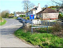 NX2057 : Old Port William Road, Glenluce by Oliver Dixon