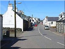 NX3260 : Village street, Kirkcowan by Oliver Dixon