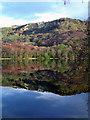SE5083 : Whitestone Cliff reflects in Lake Gormire by Scott Robinson