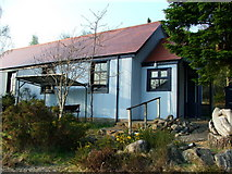 NH5535 : Abriachan village hall by David Maclennan
