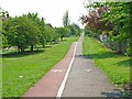 NZ4121 : Cycle path, Stockton-on-Tees by Oliver Dixon