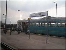 SK4699 : Train at Swinton Station by N Chadwick
