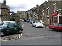 SK0394 : Ellison Street in Glossop. by Andrew Loughran