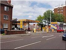 TQ2081 : Car wash, Horn Lane, North Acton by David Hawgood