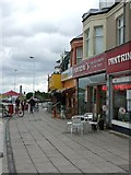 NZ3572 : Cafe Culture Arrives in Whitley Bay by Christine Westerback