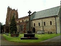 TL7835 : St. Nicholas' Church, Castle Hedingham, Essex by Robert Edwards