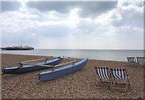 TQ3003 : Brighton Beach by Martyn Davies