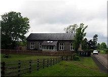 NY4348 : Village school, Wreay, near Carlisle by Brian Norman