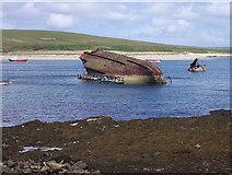 ND4798 : Blockship in Weddell Sound by Lis Burke