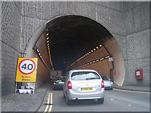 TQ4210 : Entrance to Cuilfail Tunnel by Bob Embleton