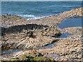 NM4027 : Basalt Rock Formation by Mick Garratt