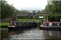 ST6866 : River Avon, Saltford Marina by Pierre Terre