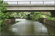 ST6569 : County Bridge, Keynsham Lock by Pierre Terre