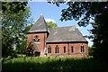 SE8309 : St.John the Baptist's church, Burringham by Richard Croft